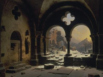View from a Monastery in Ruins, 1846