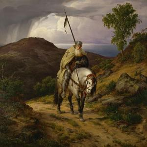 Return from the Crusade by Carl Friedrich Lessing