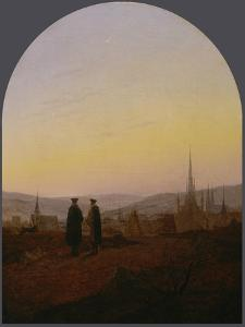 Easter walk (Osterspaziergang). 1821 by Carl Gustav Carus