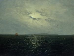 Moonlit Night, Rugia, Ca. 1819 by Carl Gustav Carus