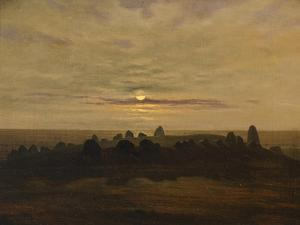 Stone Age Stronghold at Nobbin, Rugen Island, 1819 by Carl Gustav Carus