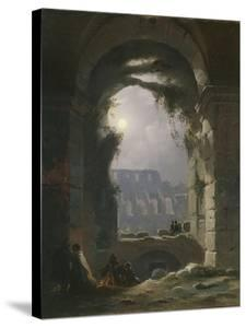 The Colosseum in the Night, Early 1830S by Carl Gustav Carus