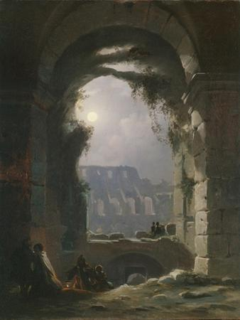 The Colosseum in the Night, Early 1830S