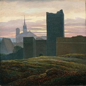 The Royal Castle of Cheb by Carl Gustav Carus