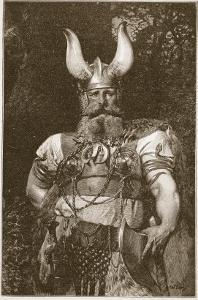 A Viking Chief by Carl Haag