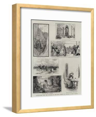 Illustrations from the Catalogue of the Royal Society of Painters in Water Colours