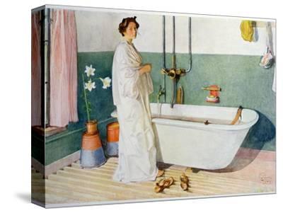 Bathroom Scene - Lisbeth, Pub. in 'Lasst Licht Hinin'