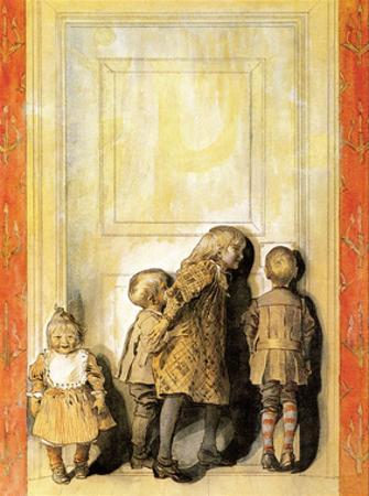 Day Before Christmas by Carl Larsson