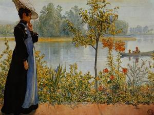 Indian Summer by Carl Larsson