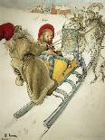 The Grandfather-Carl Larsson-Giclee Print