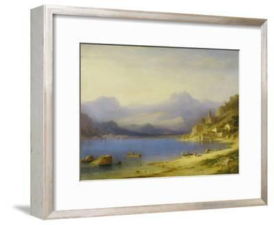 Lake Como with Boats, 1869