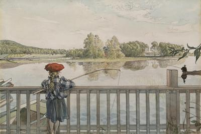 Lisbeth Angling, from 'A Home' series, c.1895 by Carl Larsson