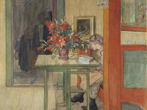 Lisbeth Reading by Carl Larsson