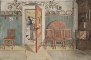 Old Anna, from 'A Home' series, c.1895 by Carl Larsson