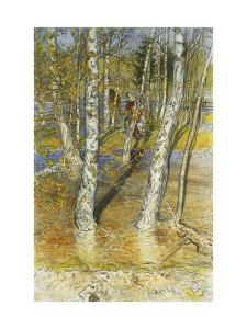 Spring Flood by Carl Larsson