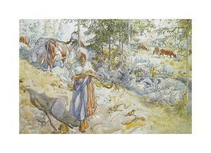 Summer has Already Gone by Carl Larsson