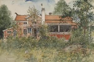The Cottage, from 'A Home' Series, c.1895 by Carl Larsson