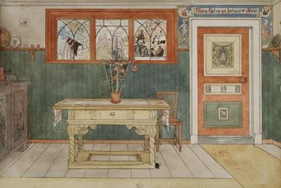 The Dining Room, from 'A Home' series, c.1895 by Carl Larsson