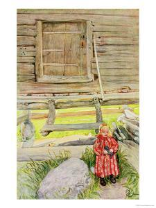 The Old Lodge, from a Commercially Printed Portfolio, Published in 1939 by Carl Larsson