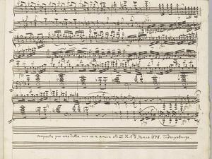 Grande Polonaise pour le Piano forte : dernière page by Carl Maria Friedrich Ernest von Weber