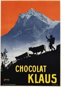 Chocolat Klaus Poster by Carl Moos