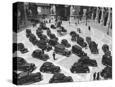 16th Century Piazza Del Campidoglio During Fascists' Celeb. of 4th Anniversary of talian Empire