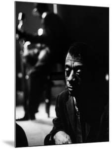American Author James Baldwin by Carl Mydans