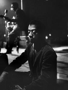American Author James Baldwin by Carl Mydans