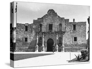 Exterior of the Alamo by Carl Mydans
