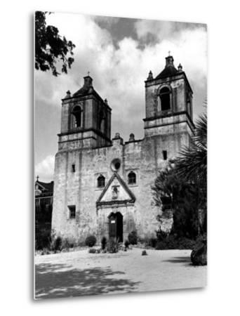 Exterior of the Mission Conception Near San Antonio, also known as the Alamo