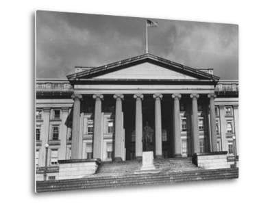 Exterior of the US Treasury Building