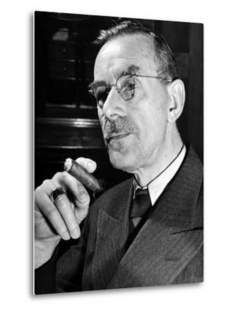 German-Born Us Writer Thomas Mann