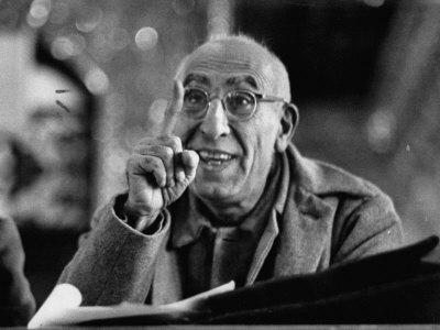 Mohamed Mossadegh, Premier of Iran, Correcting the Prosecutor's Grammar at His Trial