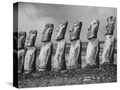 Mysterious Stone Statues on Easter Island