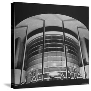 View of the Jai Alai Building in Manila by Carl Mydans