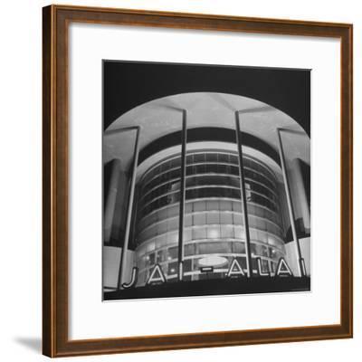 View of the Jai Alai Building in Manila