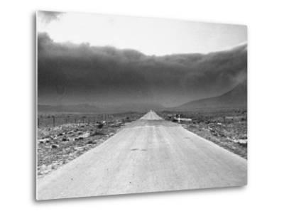 View Showing a Dust Storm in West Texas