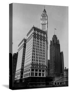 View Showing the Chicago Tribune Building by Carl Mydans