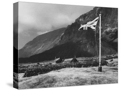 Village of Edinburgh on Tristan Da Cunha