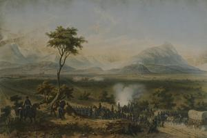 Battle of Monterrey, General Taylor's Troops, September 1846 by Carl Nebel