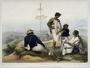 Indians of the Guauchinango Mountains by Carl Nebel
