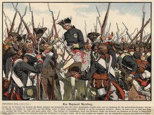 The Bernburg Regiment by Carl Rochling