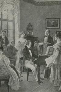The Music-Maker Plays a Tune by Carl Rochling