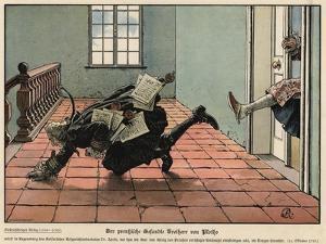 The Prussian Envoy Freiherr Von Plotho by Carl Rochling