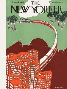 The New Yorker Cover - June 19, 1926 by Carl Rose