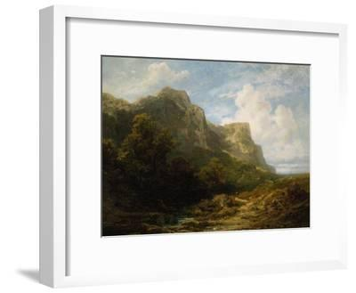 Bavarian Mountain Landscape, about 1870