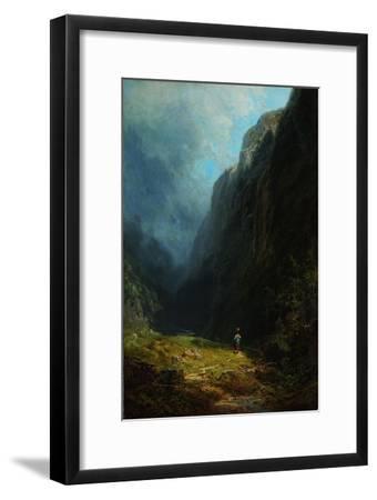 In the Alpine High Valley (Landscape with Mt. Wendelstei), C. 1871