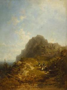 Mountain Hike by Carl Spitzweg