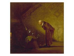 The Alchemist, about 1855/60 by Carl Spitzweg