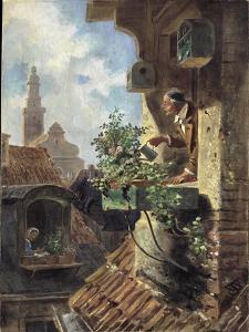 The Attic Room, 1862 by Carl Spitzweg